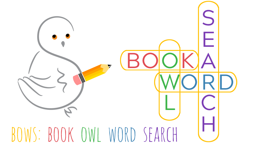 """My Book Owl Word Search (BOWS) secret word is """"adventure."""""""